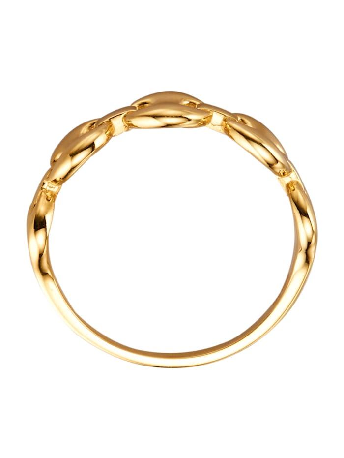 Damenring aus Gelbgold 375