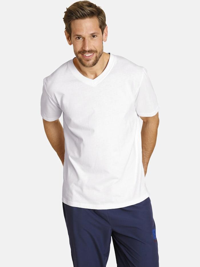 Jan Vanderstorm Jan Vanderstorm Doppelpack T-Shirt OSMO, weiß