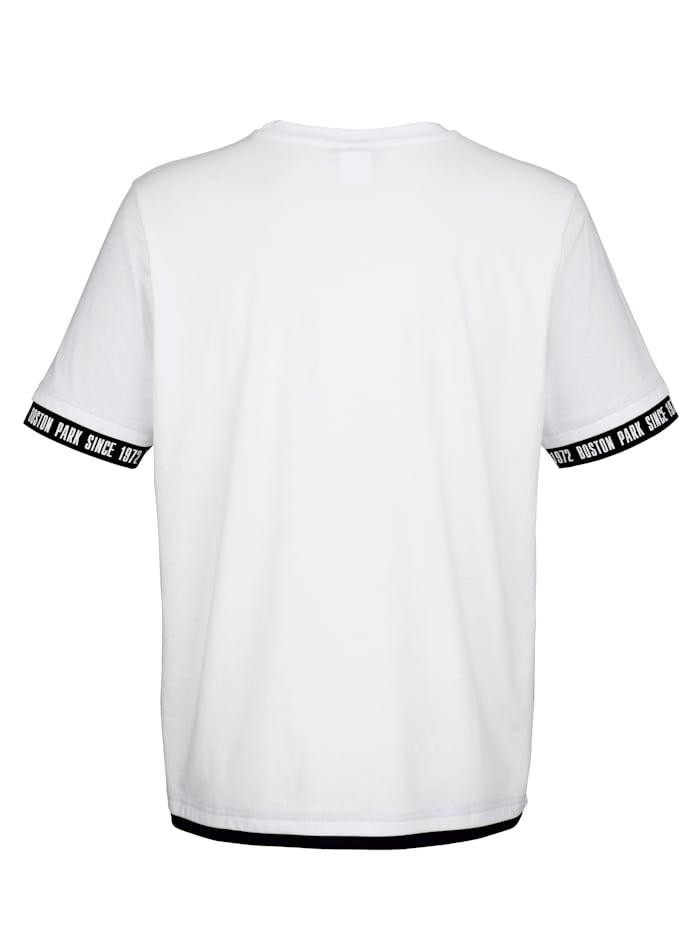 T-shirt med tryckt text