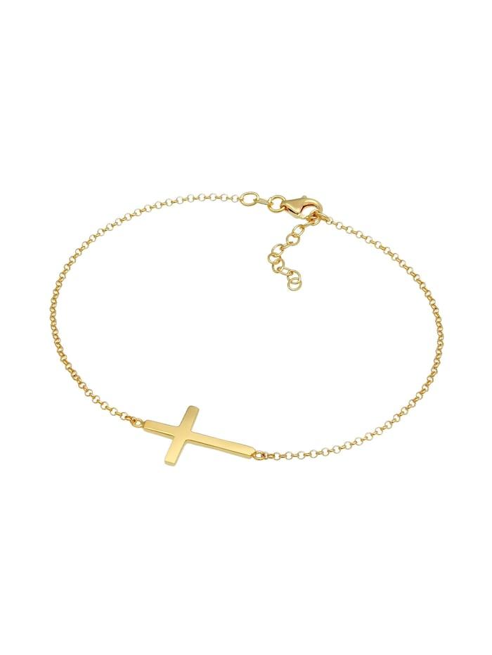 Fußschmuck Kreuz Religion Glaube Filigran Trend 925 Silber