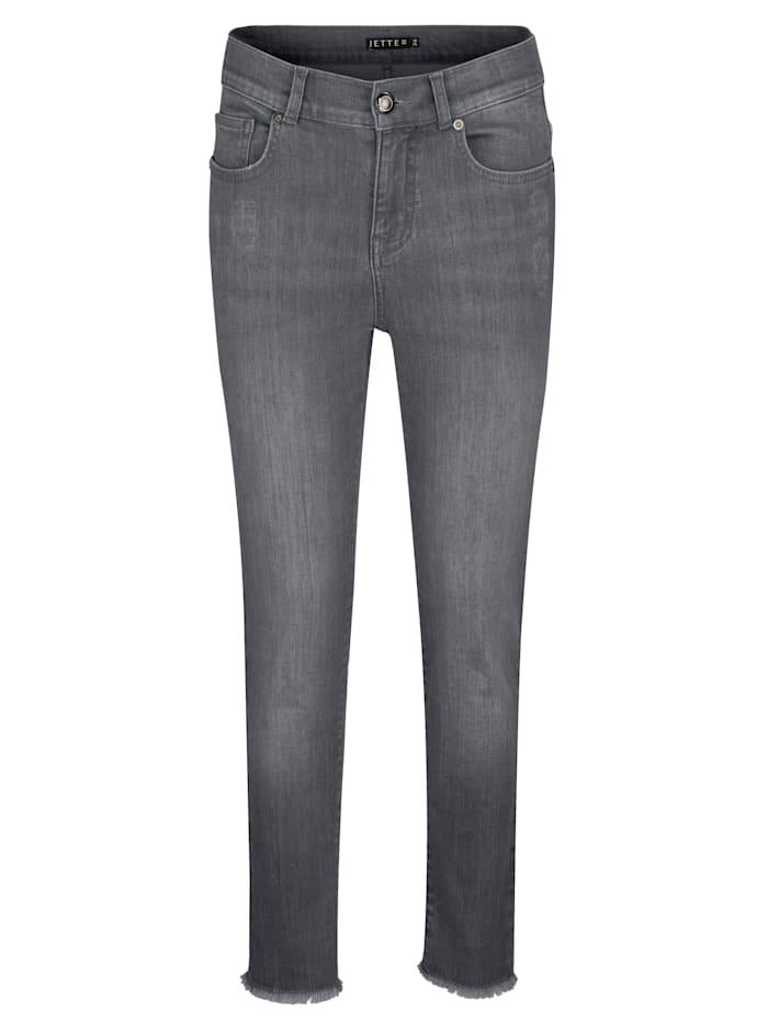 JETTE JOOP Jeans in modischer Waschung, Grey