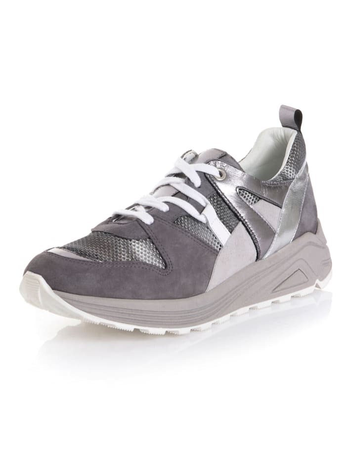 Alba Moda Sneaker mit hohem Tragekomfort, Grau