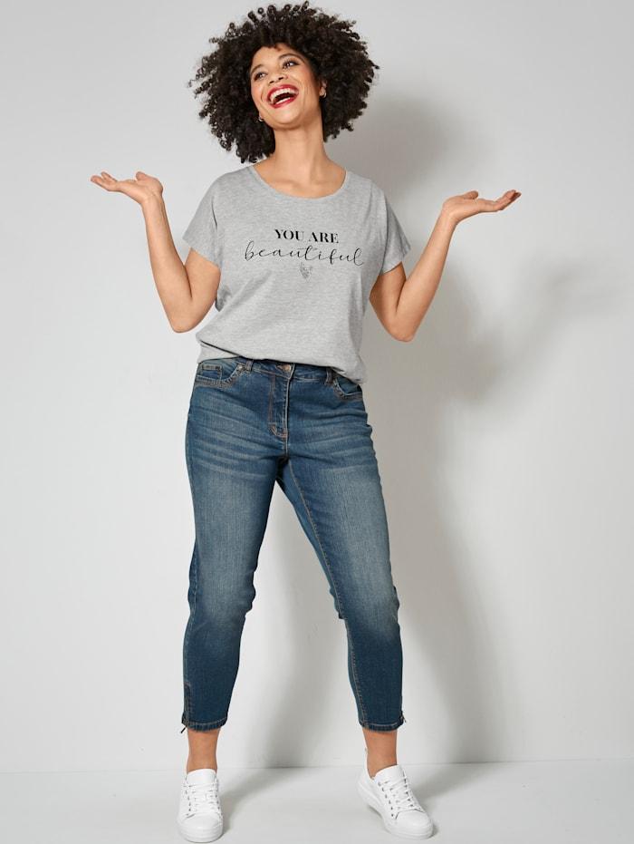 Shirt mit angesagtem Statementprint