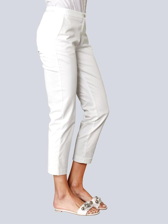 BRAX Hose in modischer Form, Weiß