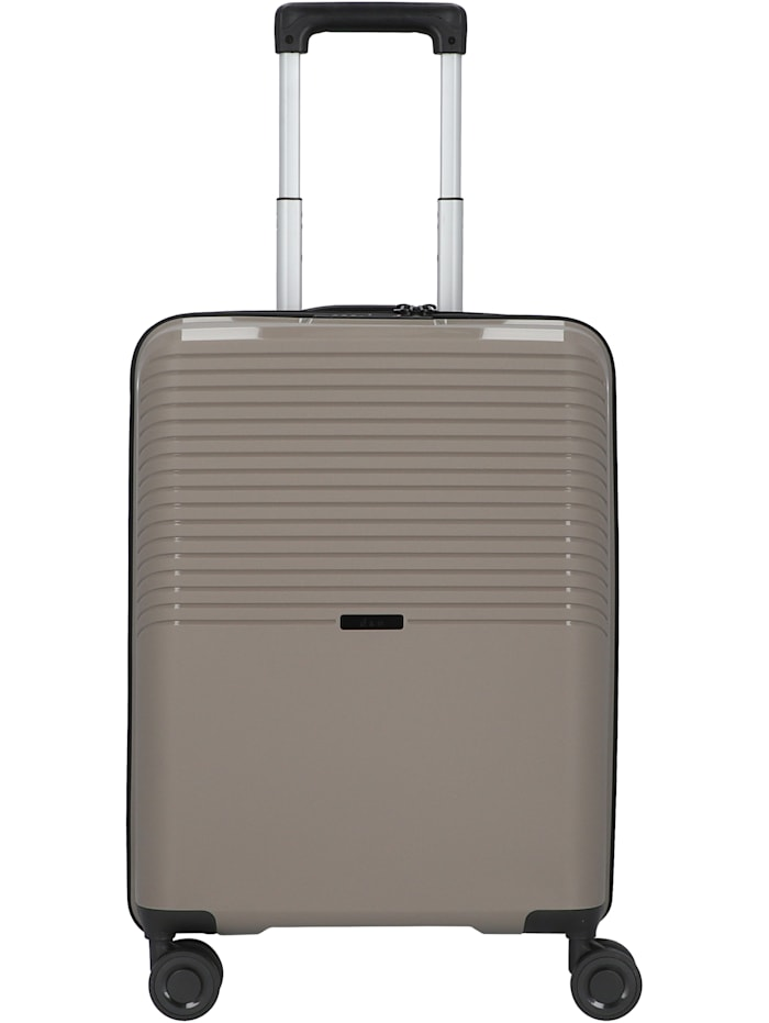 D&N Travel Line 4000 4-Rollen Kabinentrolley 55 cm, taupe