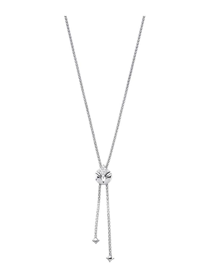 Amara Diamants Collier avec brillants, Blanc