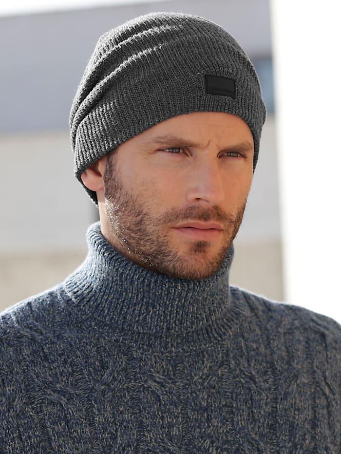 Pletená čiapka v oversize strihu