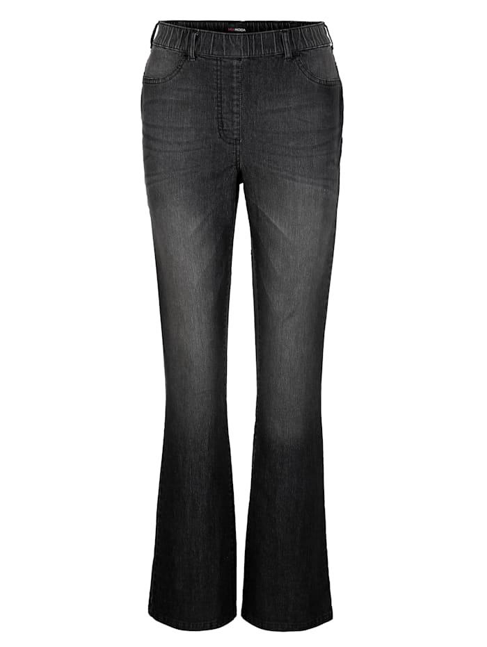 Jeans med utsvingte ben