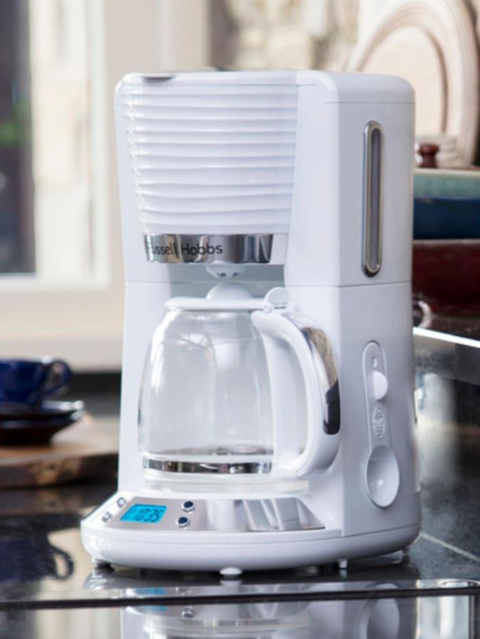 Russell Hobbs Digitale Glas-Kaffeemaschine 'Inspire White' 24390-56
