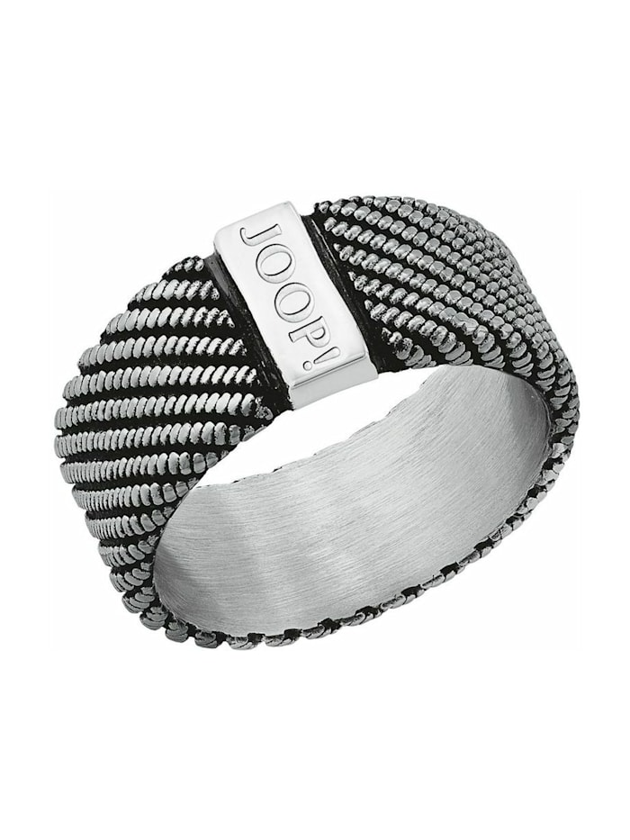 JOOP! Ring für Herren, Edelstahl, Bicolor
