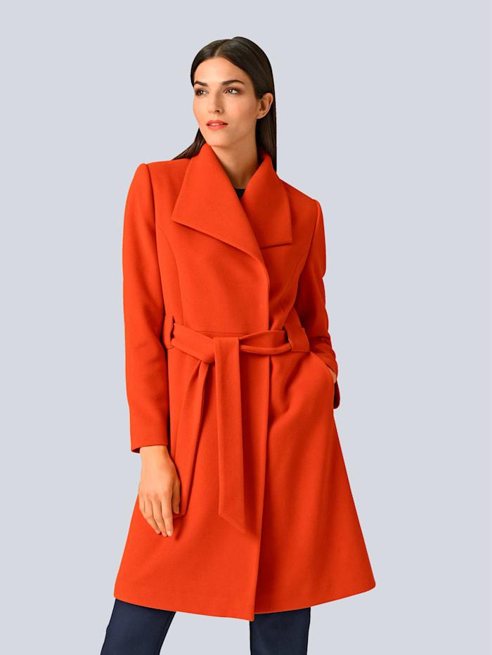 Alba Moda Mantel in femininer Form, Orange