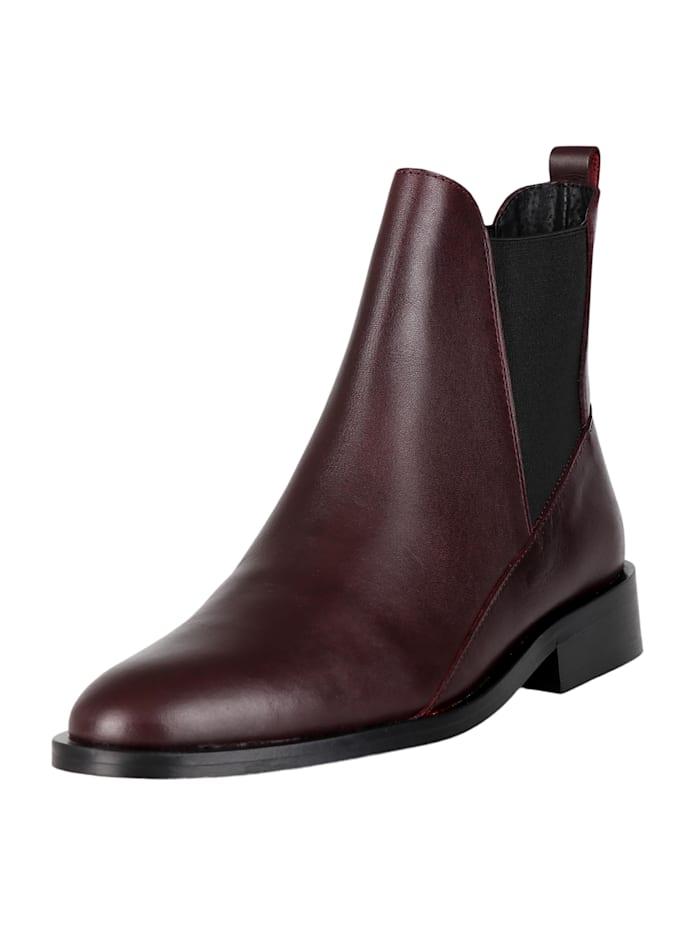 COX Chelsea-Boots Chelsea-Boots, bordeaux