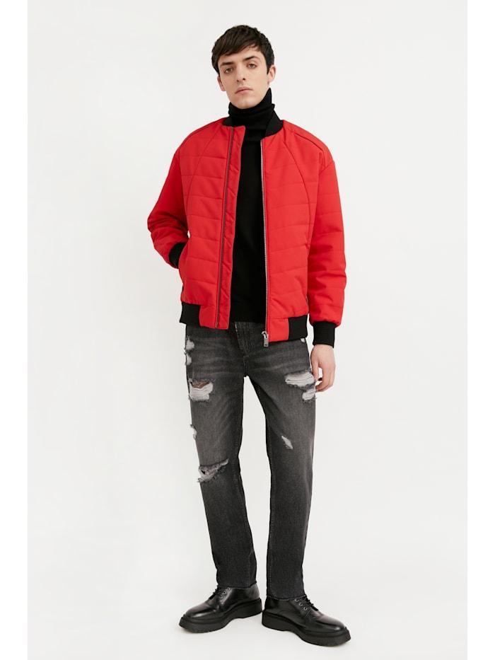 Jacke für Herren - mit modischem Bomberkragen