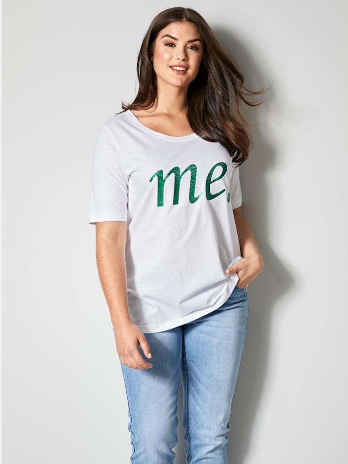 Angel of Style Shirt van zuiver katoen, Wit