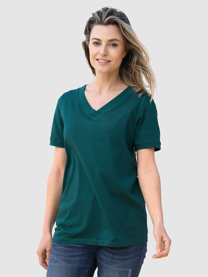 basically you Shirt van 'Cotton made in Africa', Dennengroen
