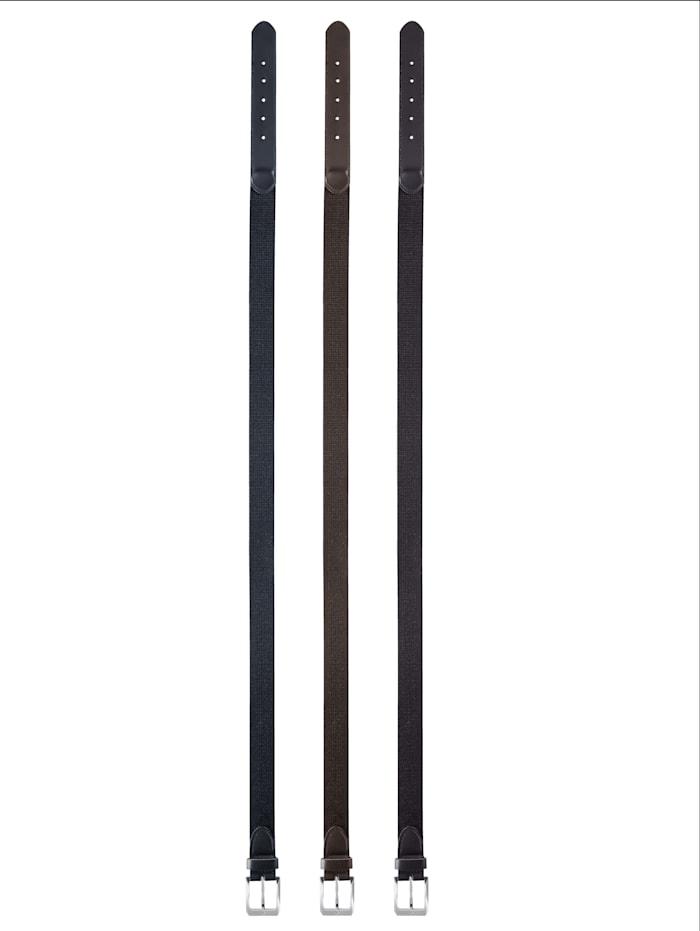 Ceinture extensible avec boucle métallique