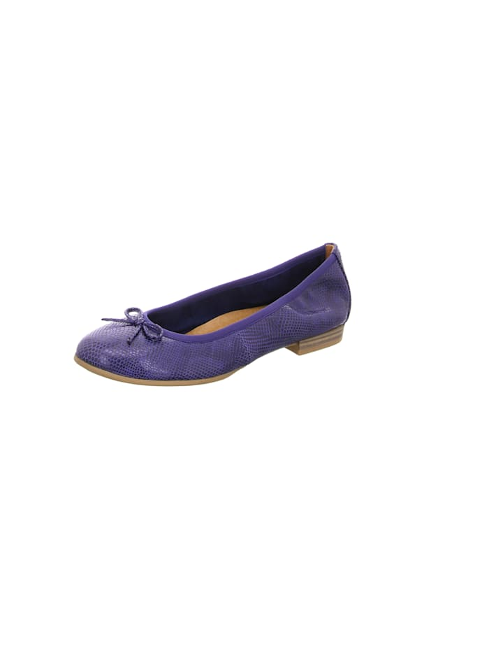 Tamaris Ballerinas, blau