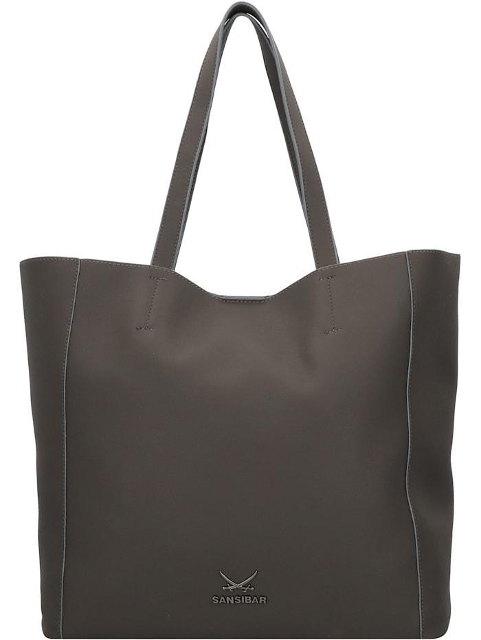 Sansibar Shopper Tasche 34 cm, anthracite