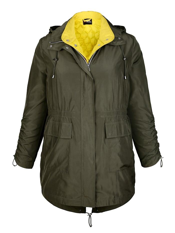 2-in-1 Jacke bestehend aus Weste und Parka