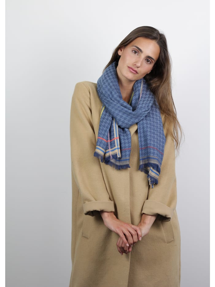 Ultrasofter Jacquard-Schal aus Viskose