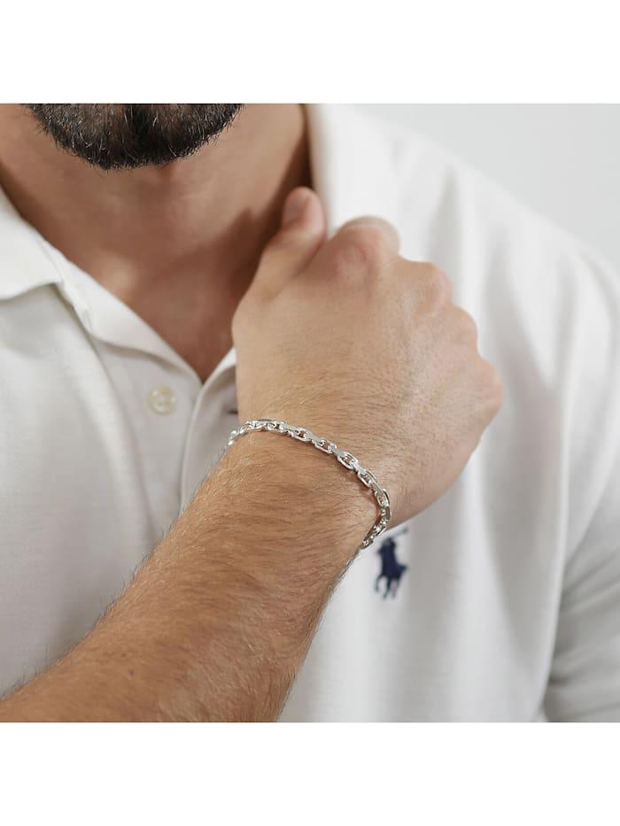 Armband für Männer 925 Sterlingsilber Anker 21 cm