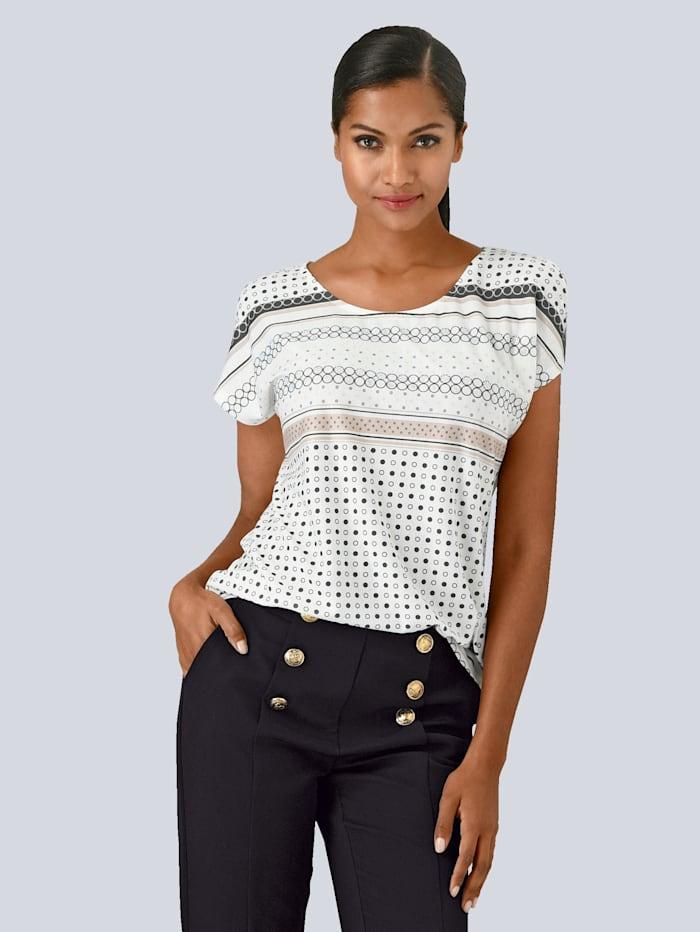 Shirt mit schönem Print im Vorderteil
