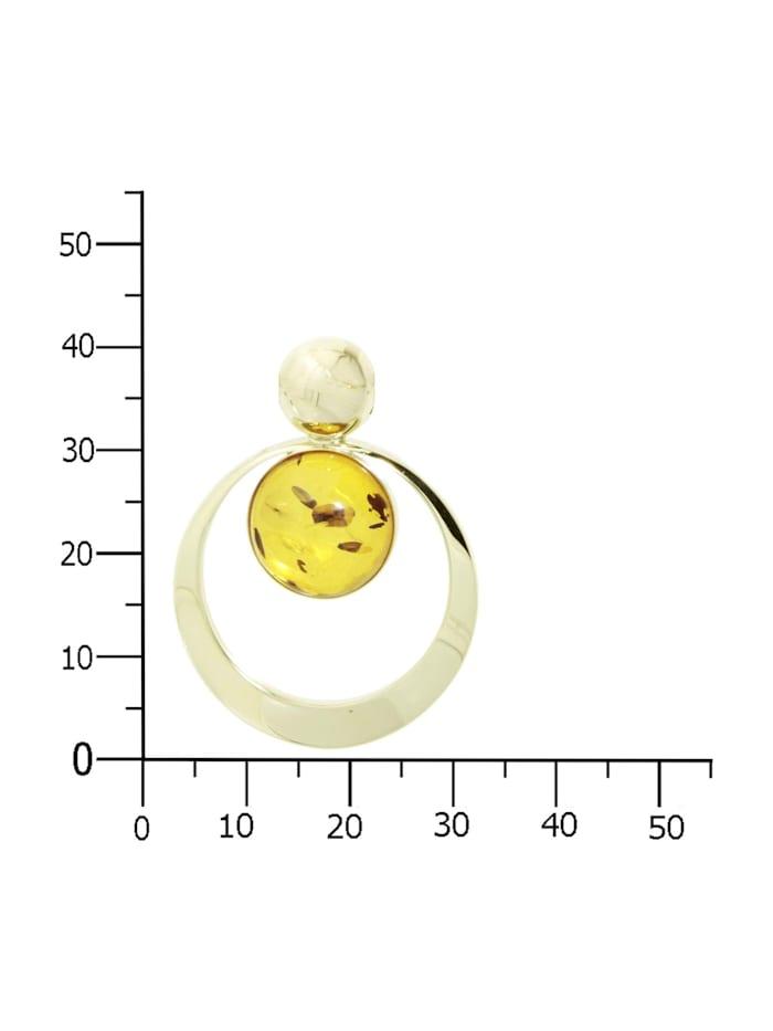 Anhänger - Lenka - Gold 333/000 - Bernstein