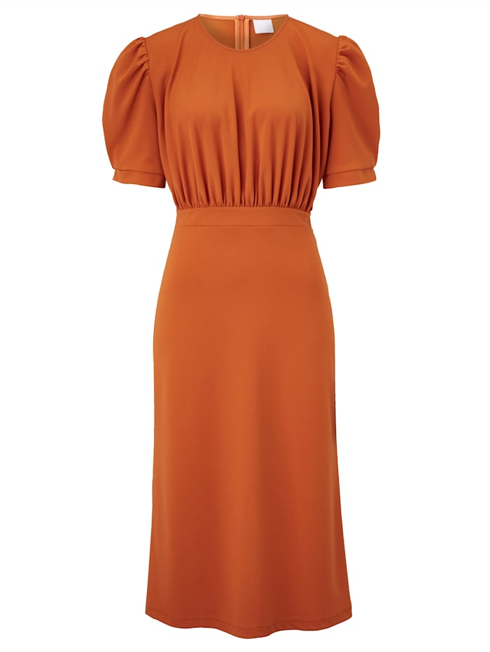 REKEN MAAR Kleid, Terracotta