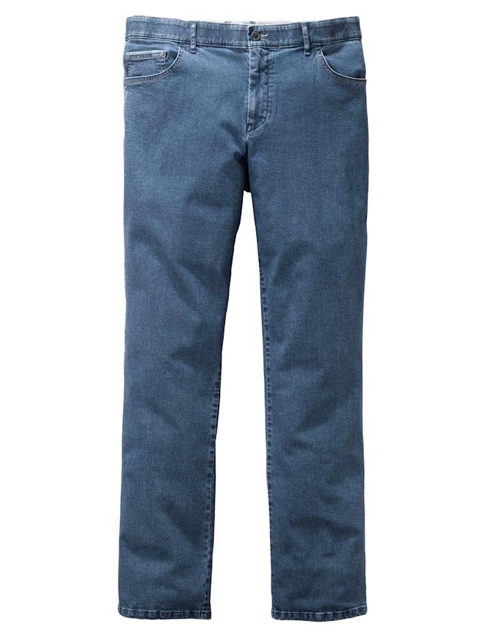 Men Plus Jeans Swing-Pocket Form, Stein