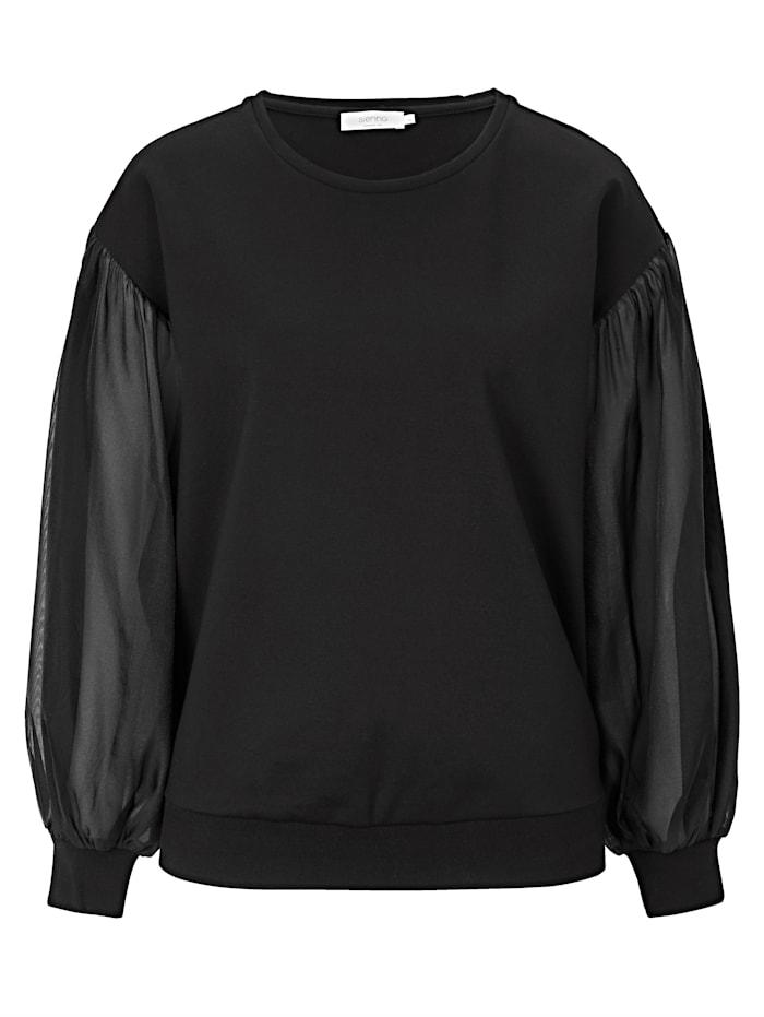 SIENNA Sweatshirt, Schwarz