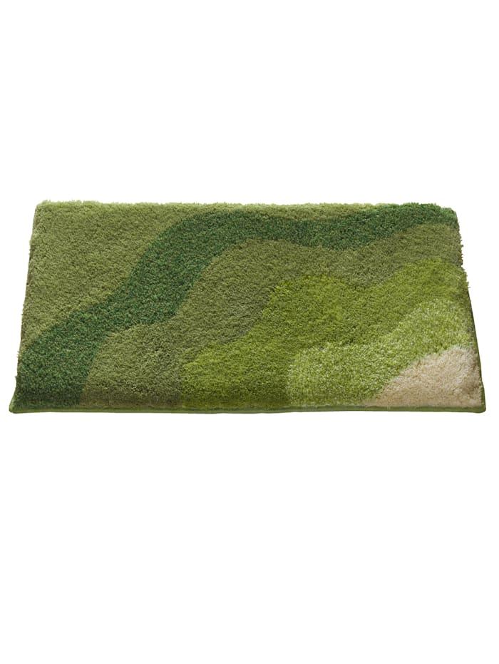 Webschatz Bademattenserie Welle' Izola', grün