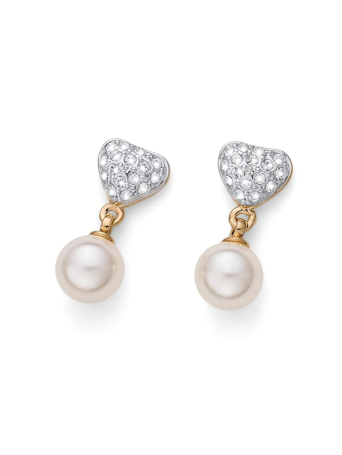 Oliver Weber Ohrstecker Lovely Pearly, gold
