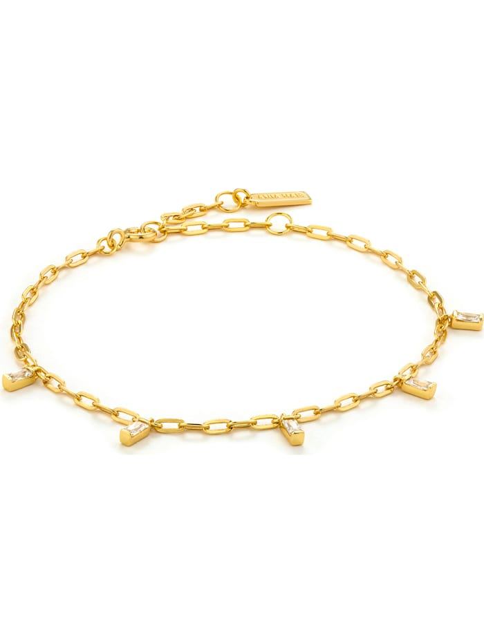 Ania Haie Ania Haie Damen-Armband Glow Drop Bracelet 925er Silber, gold
