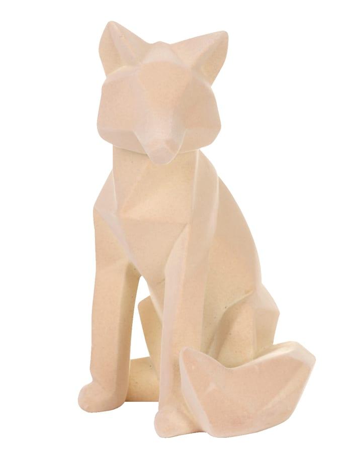 IMPRESSIONEN living Figurine Renard, Crème