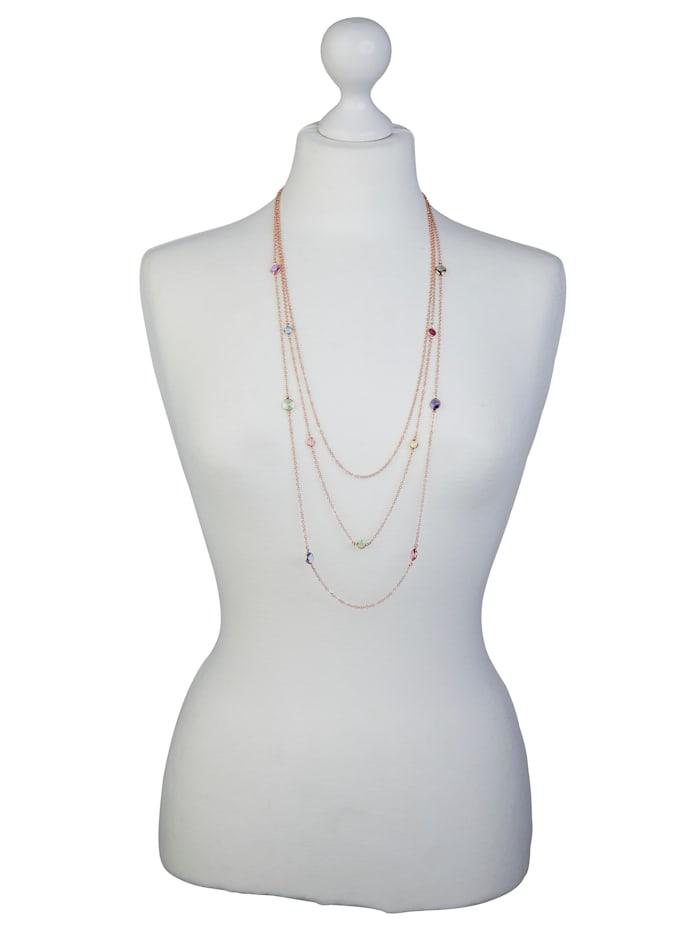 Halsband med Swarovskikristaller