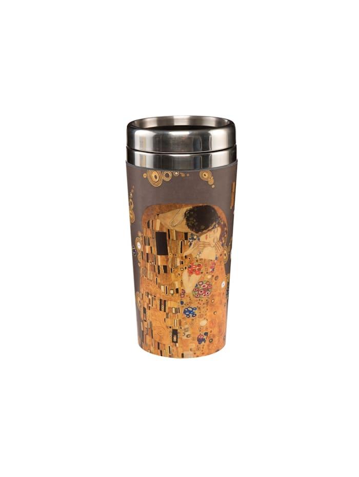 "Goebel Goebel Mug To Go Gustav Klimt - ""Der Kuss"", Klimt - Kuss"
