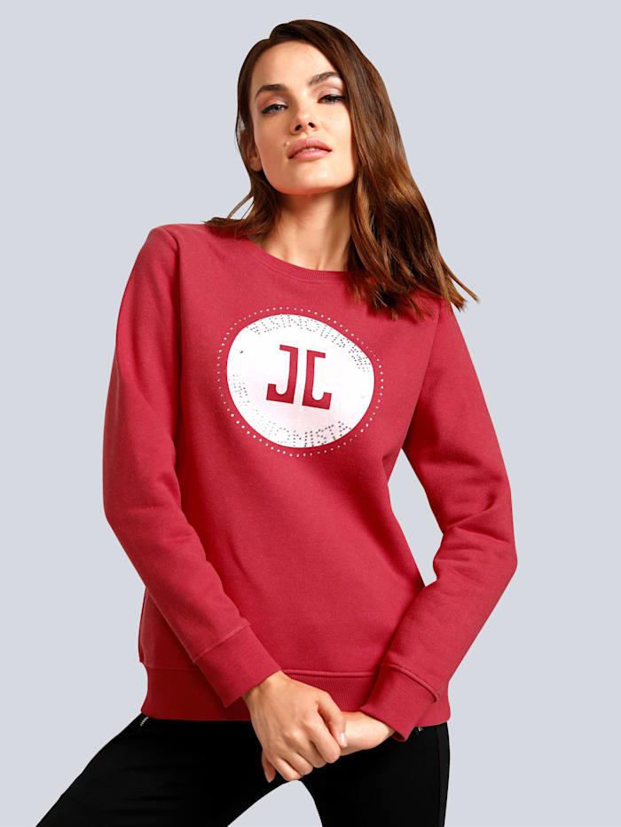 JETTE JOOP Sweatshirt mit Logo-Print, Rot