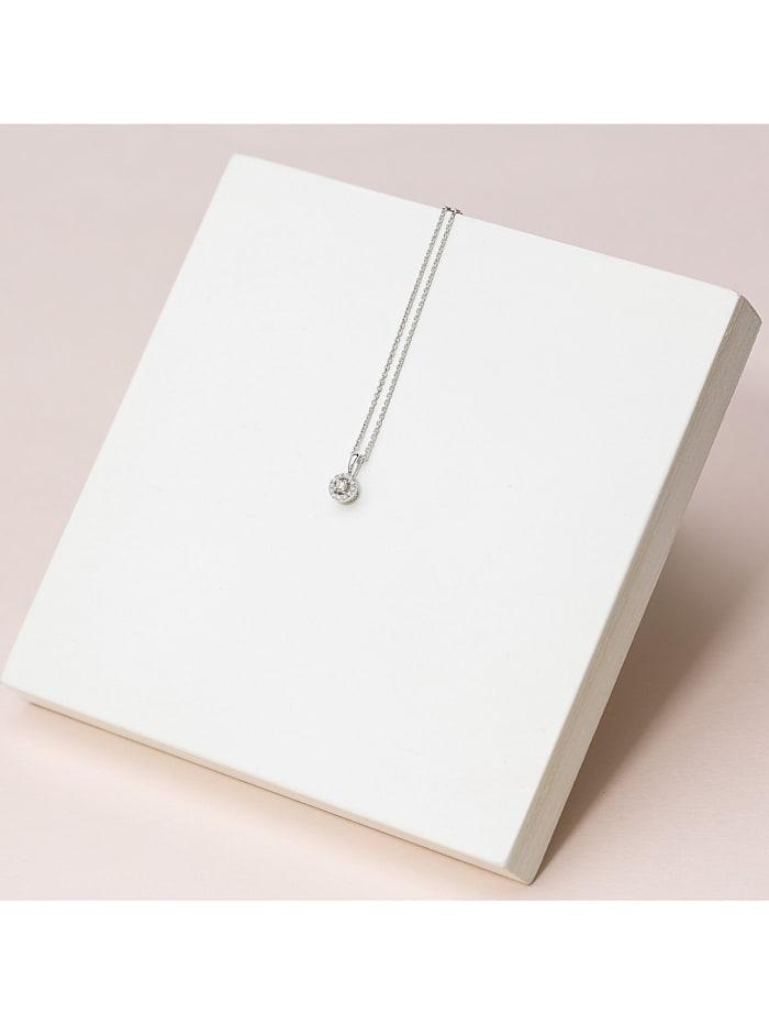 CHRIST Diamonds Damen-Kette 375er Weißgold 13 Diamant