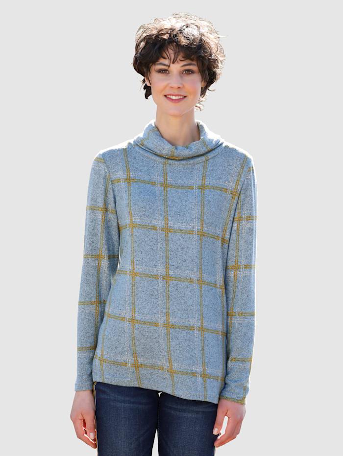 Shirt mit trendigem Checkdesign
