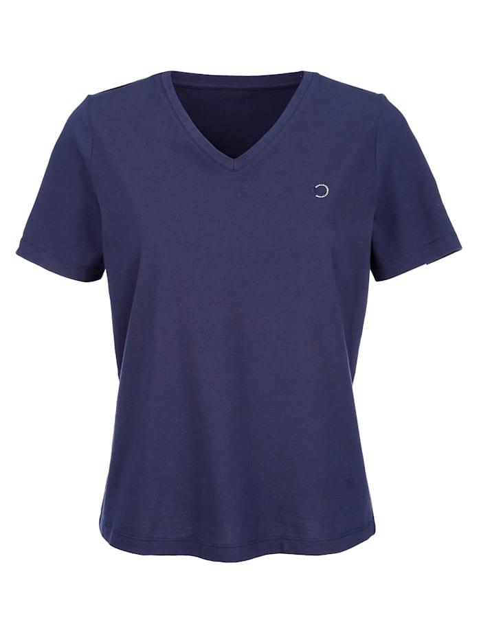 MONA Shirt aus Cotton made in Africa, Schwarz