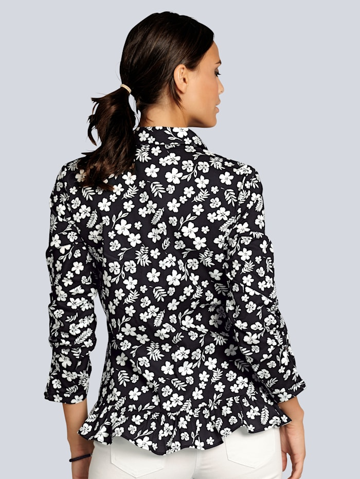 Bluse im Alba Moda exklusivem Floralprint