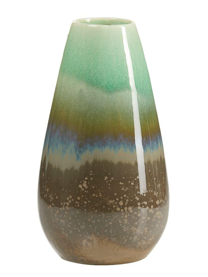 IMPRESSIONEN living Vase, mint/grün/grau