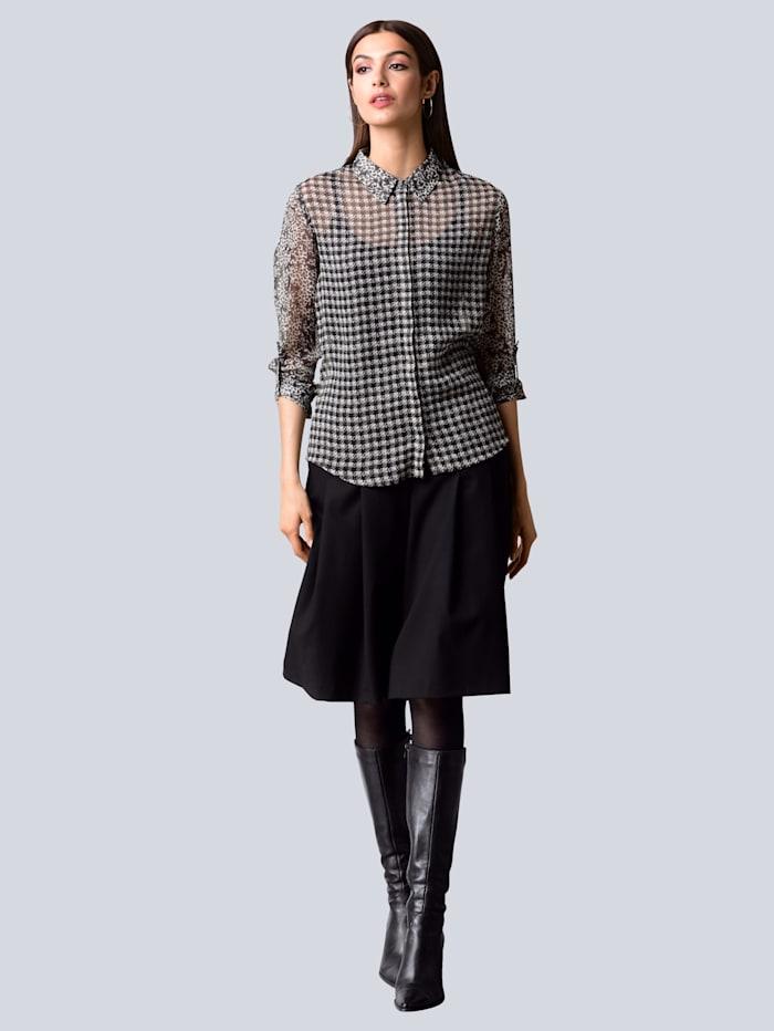Hosenrock mit weitem Bein