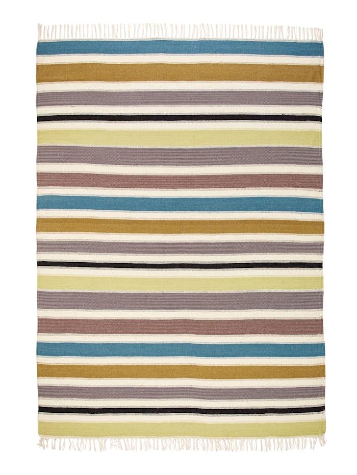 Casamaxx Håndvevd teppe -Kilian-, Flerfarget