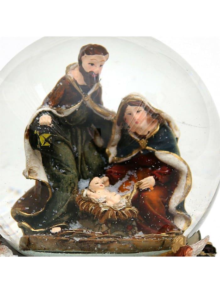 Sigro Schneekugel Heilige Familie, Bunt