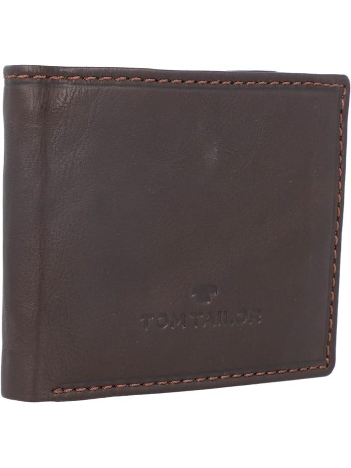 Tom Tailor Lary Geldbörse Leder 10 cm, brown