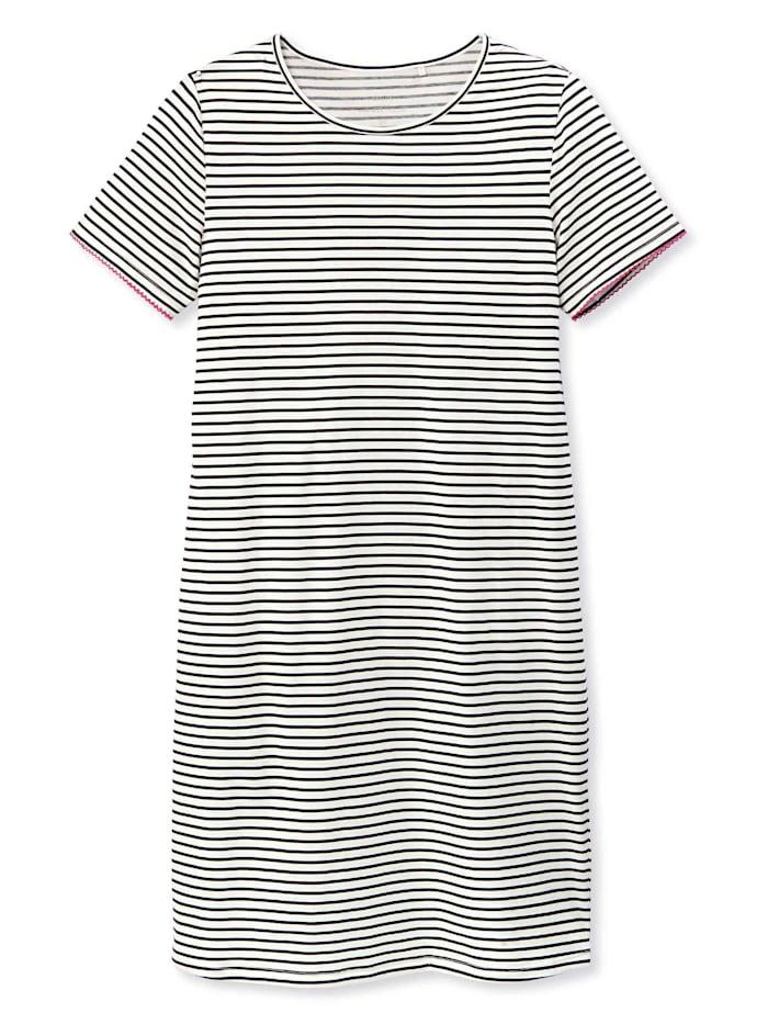 Calida Sleepshirt Kurzarm, Länge 95cm STANDARD 100 by OEKO-TEX zertifiziert, Dark Lapis Blue