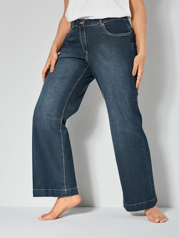Dollywood Jeans NORA Wide Leg, Dunkelblau