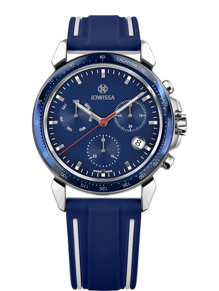 Jowissa Quarzuhr LeWy 9 Swiss Men's Watch, blau