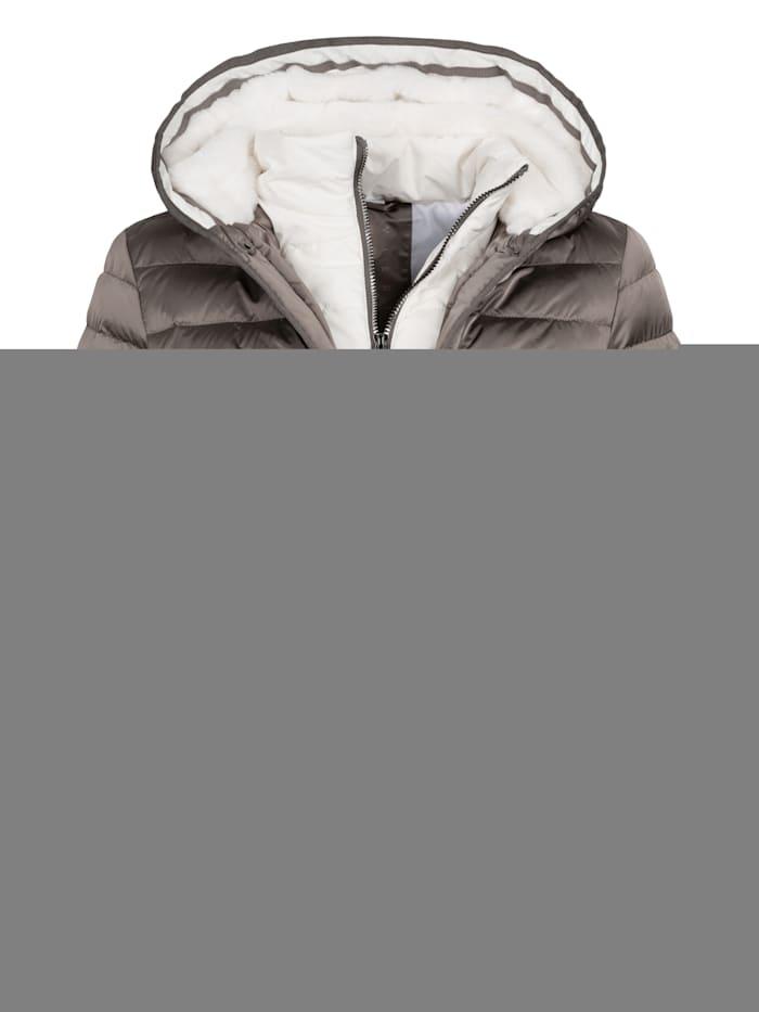 DEPROC ACTIVE GILMOUR VAIL Women Steppjacke mit außergewöhnlichem Design, braun